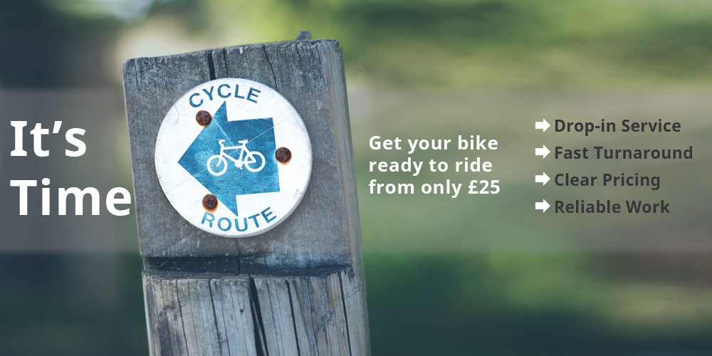 It's time to get your bike ready for Summer in Eastbourne