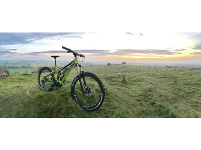 MERIDA eOne-Sixty 900E Green Electric MTB click to zoom image