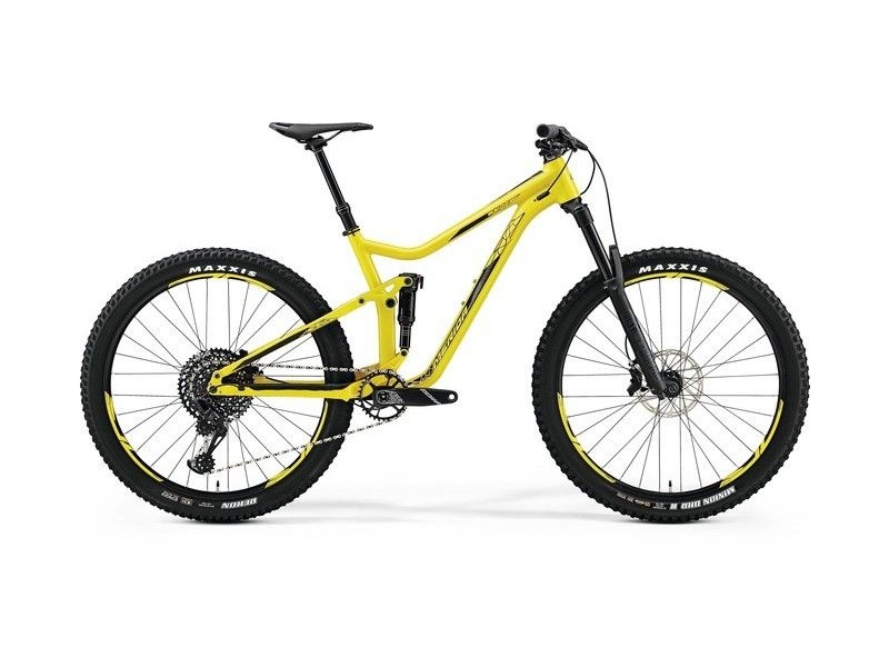 MERIDA One-Forty 800 Yellow MTB click to zoom image