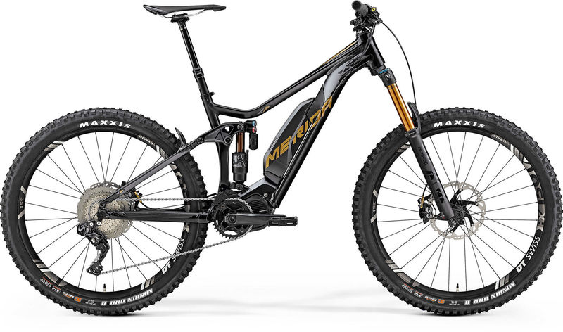 MERIDA eOne-Sixty 900e Black Electric MTB click to zoom image