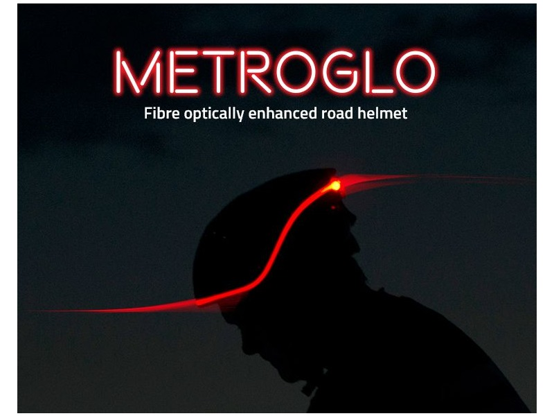 <strong><center>Metro-Glo Helmets featuring Fibre-Optics for Enhanced Visibility.</strong></center>