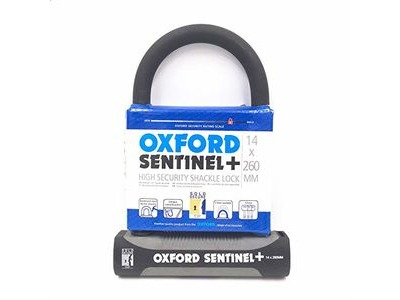 OXFORD Sentinel Plus 14 x 260mm U-Lock