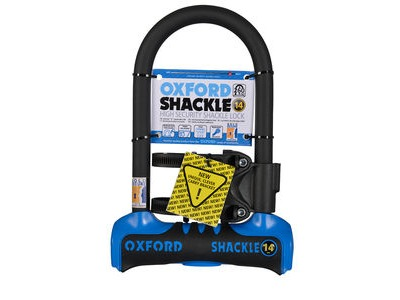 OXFORD Shackle 14 D-Lock (260mm) Blue