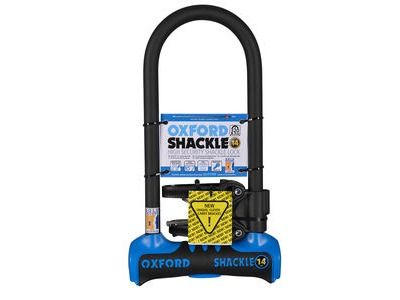 OXFORD Shackle 14 D-Lock (320mm) Blue