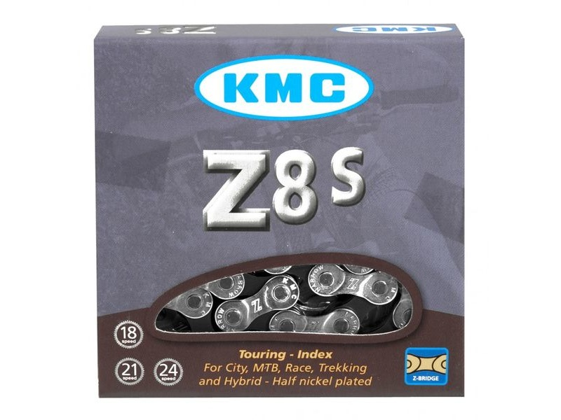 KMC Z8S 6/7/8 Speed Chain 116 Links click to zoom image