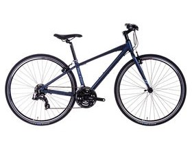 Raleigh Strada 1 Crossbar Hybrid Bike (Blue)