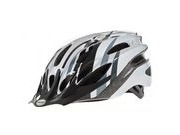 Raleigh Mission Helmet 54-58cm Black/ Silver  click to zoom image