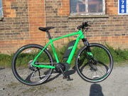 Raleigh Strada Trail Sport Electric Bike. click to zoom image