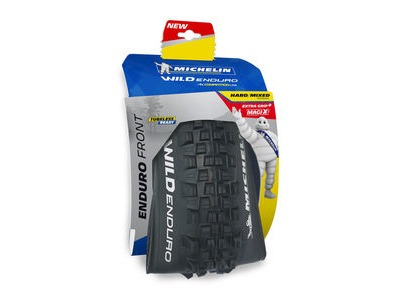 "MICHELIN Wild Enduro Magi-X Tyre Front 27.5 x 2.4"" Black (61-584) click to zoom image"