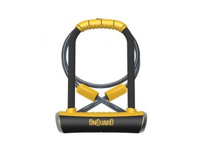 On Guard 8005 Pitbull DT U-Lock with Cable.