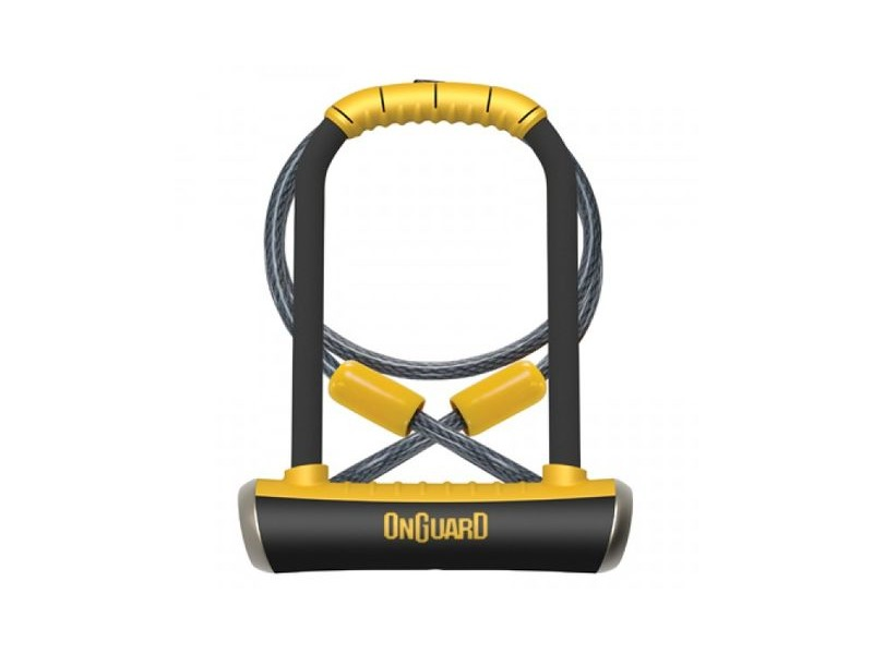 On Guard 8005 Pitbull DT U-Lock with Cable. click to zoom image