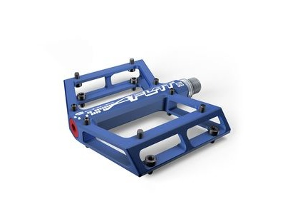 Acros A-Flat MD Flat Pedals. Blue, Red or Black