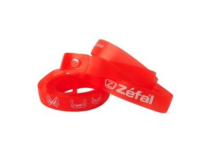 "ZEFAL Soft Pvc 18mm 26"" Rim Tape Red (Pr)"