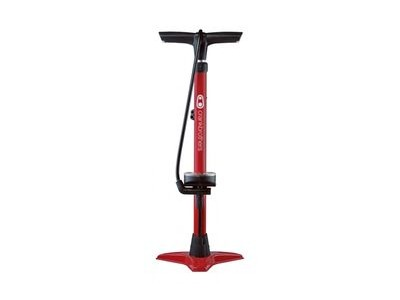 Crank Brothers Gem Floor Pump  Red  click to zoom image