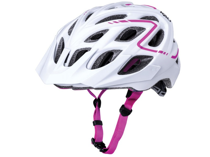 KALI PROTECTIVES Chakra Plus Reflex Matt White/Pink click to zoom image